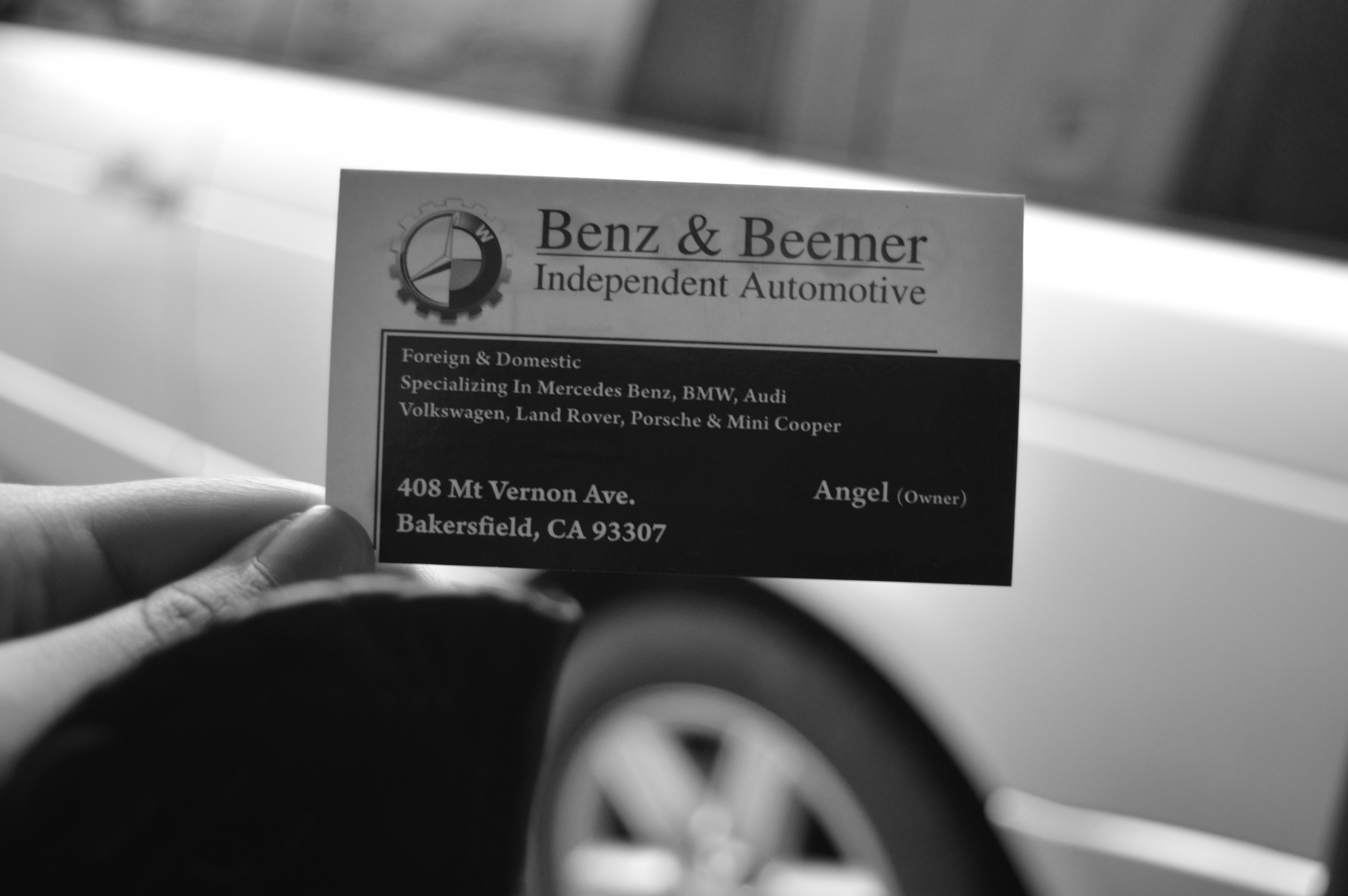 Benz & Beemer Independent Automotive 408 Mount Vernon Ave