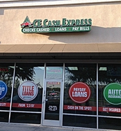 ACE Cash Express - Visalia, CA