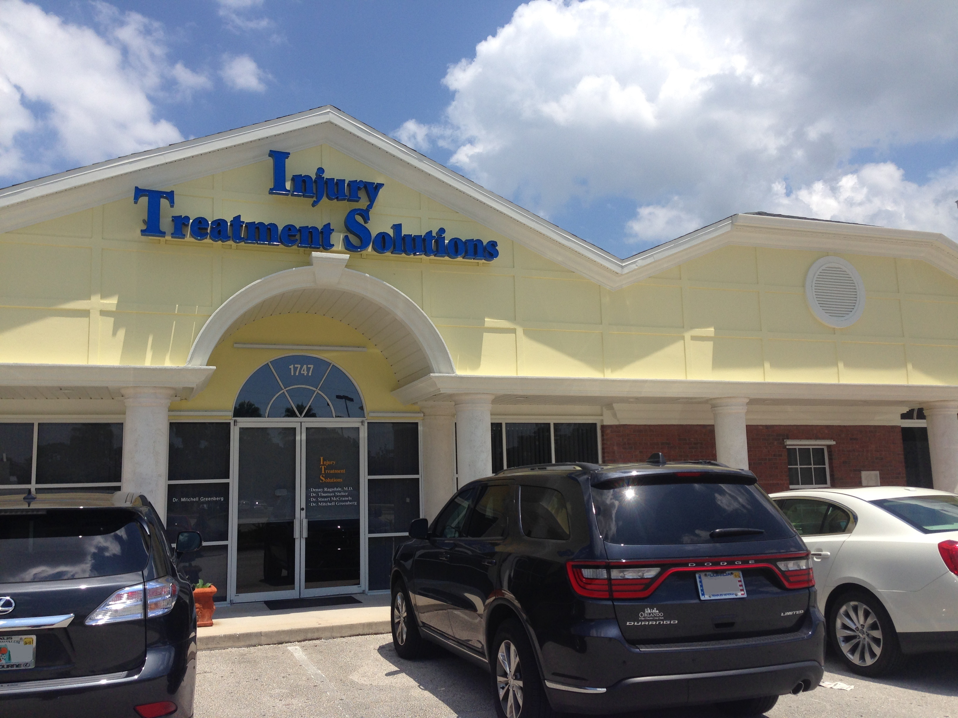 Injury Treatment Solutions 1747 Evans Rd Ste 101 ...