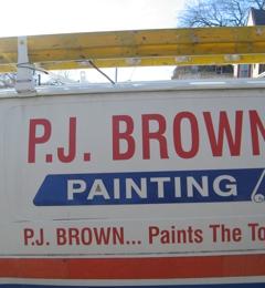 P J BROWN PAINTING - Philadelphia, PA. READY TO GO TO WORK