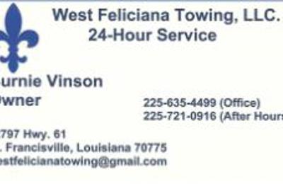 West Feliciana Towing - Saint Francisville, LA