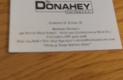 Donahey Law Firm LLP The - Columbus, OH