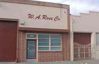 Rose W A Construction Inc. - Oakland, CA