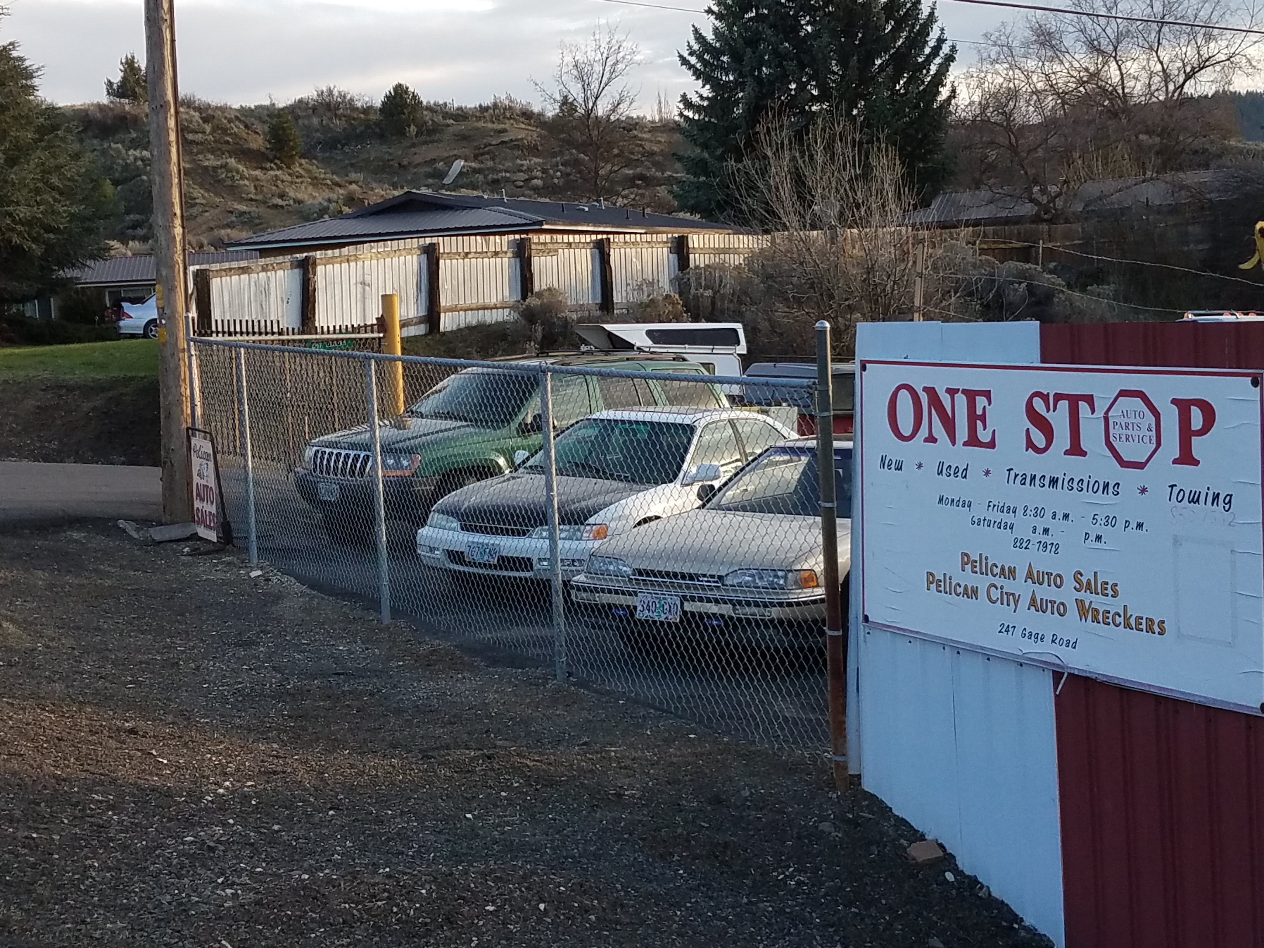 One Stop Auto Sales >> One Stop Auto Wreckers 247 Gage Rd Klamath Falls Or 97601