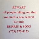 Burris & Sons Heating, Cooling & Plumbing