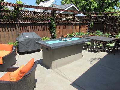 outdoor counter