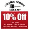 Colonial Heights Lock & Key
