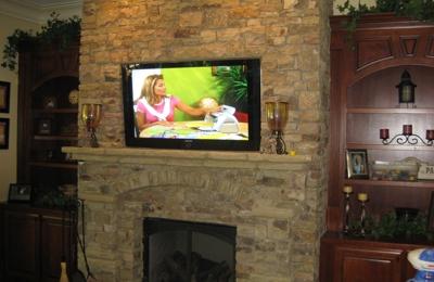 Simply30AV - Panama City, FL. Fireplace TV Mount