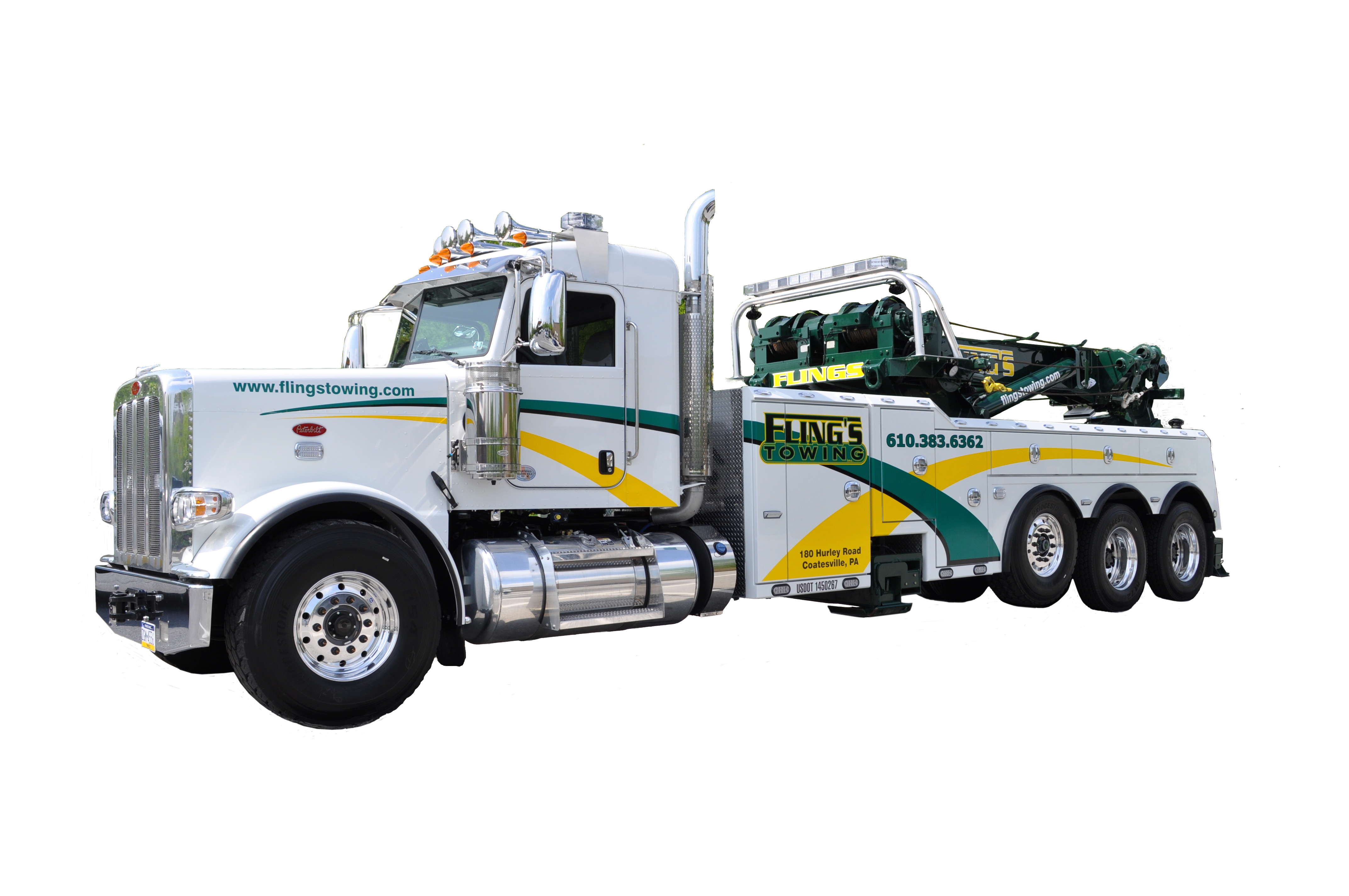 Fling\'s Towing Inc 180 Hurley Rd, Coatesville, PA 19320 - YP.com