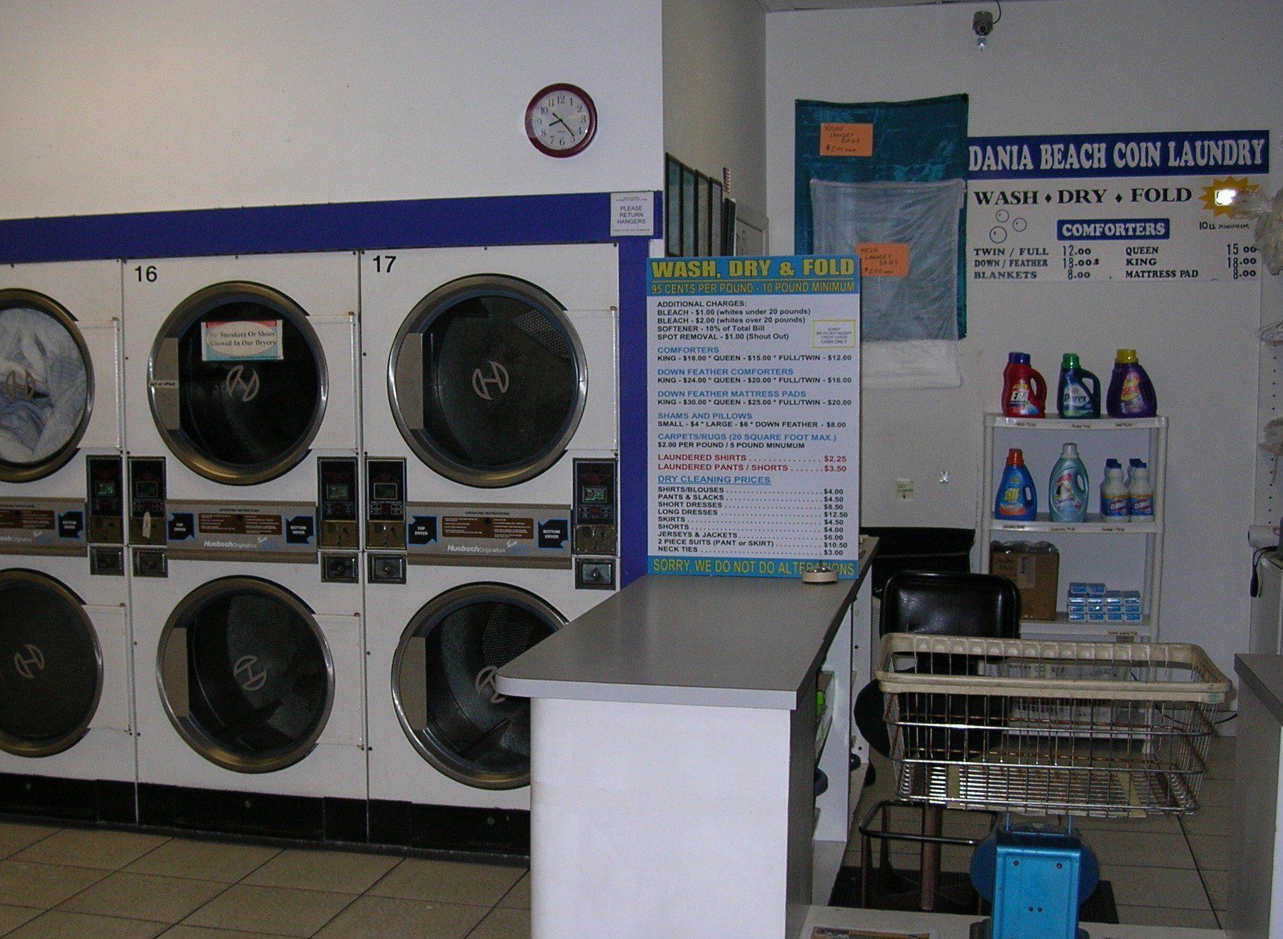 Dania Beach Coin Laundry 358 E Dania Beach Blvd Dania Fl 33004