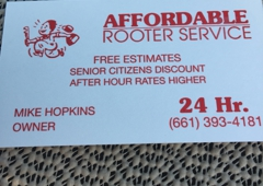 Affordable Rooter Service - Bakersfield, CA