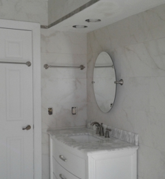 Ormond by the sea painting and remodeling - Ormond Beach, FL. Bathroom