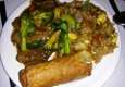 Hong Kong Palace - Hackettstown, NJ. Beef with broccoli, shrimp fried rice, egg roll combo