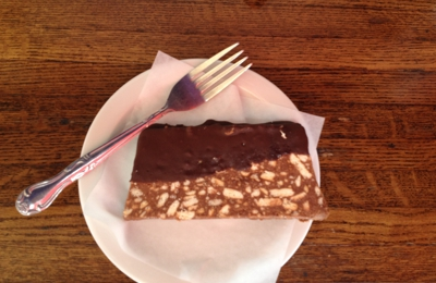 Natas Pastries - Sherman Oaks, CA. Chocolate salami - like my grandma use to make!