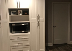 Tell-Projects - Houston, TX. Kitchen Built Ins