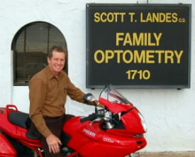 Dr. Landes, Licensed Optometrist serving Andover, Bentley, and Wichita