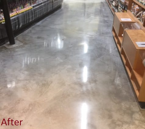 Polished Warehouse Floor