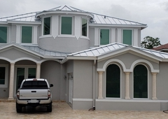 Roofer Mike Inc - Miami Springs, FL. Metal roof in Miami, Fl. Englert 1300