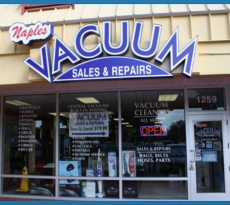 Naples vacuum sales and repairs - Naples, FL