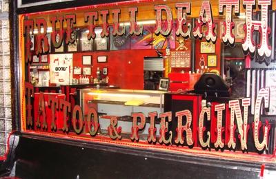 TRUE TILL DEATH TATTOO & PIERCING - Santa Rosa, CA