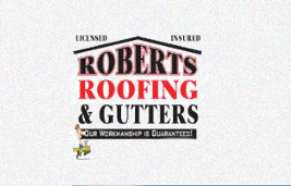 Logo: Services/Products: Roofing Contractors, Gutters U0026 Downspouts  Installed U0026 Cleaned, Building Contractors, Residential, Commercial U0026  Industrial.