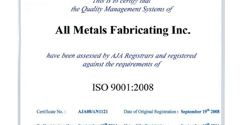 All Metals Fabricating - Allen, TX