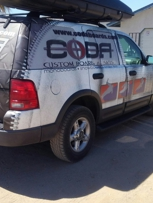 Our vehicle wrap 5 years later