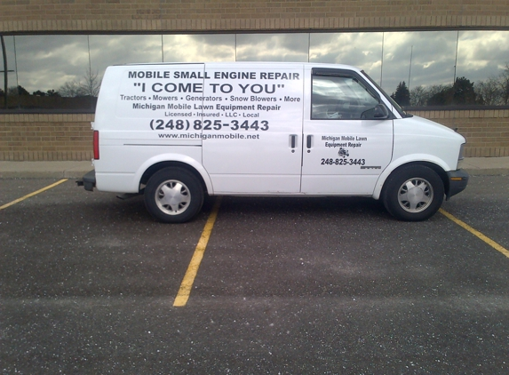 Michigan Mobile Lawn Equipment Repair - Troy, MI