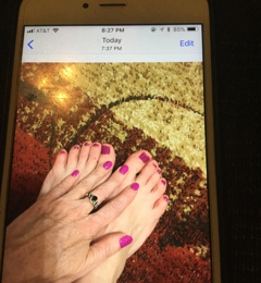 VIP Nails & Spa - Ballwin, MO. Lynn and Miki gave me an awesome pedicure and nail dip plus eyebrow wax today! Jodi G