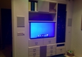 Kitchen Cabinets / Cabinet Repairs / Drawers - Las Vegas, NV. Custom built in flat panel TV