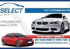 Bimmer Select Motors Lewisville Tx
