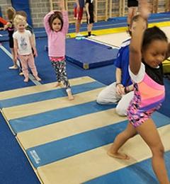 Emilia Acrobatics Gymnastics - Columbia, MD. Gymnastics Class