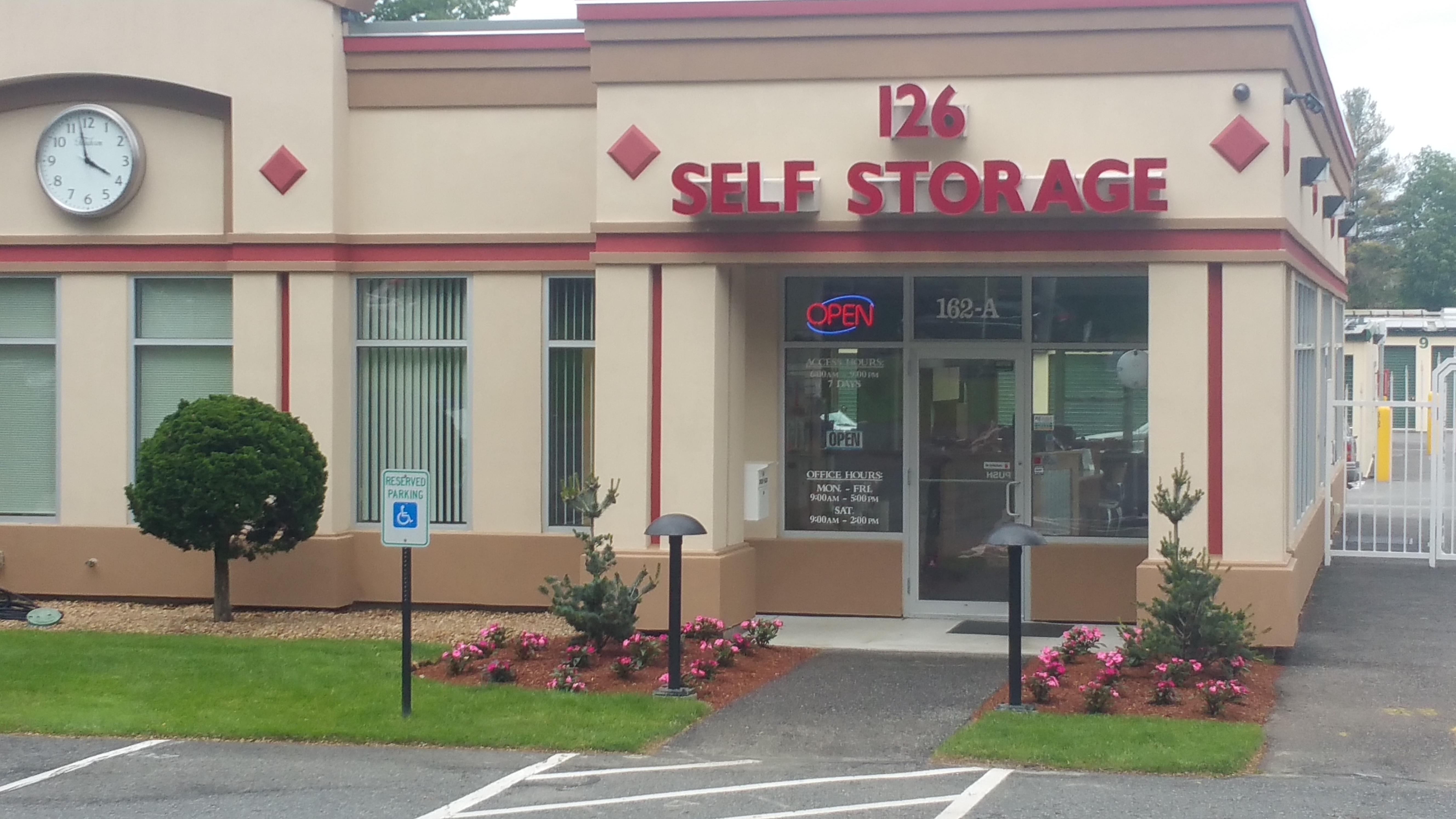 All American Self Storage Mill Street Natick Ma Dandk