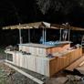 Kingdom Roof and Fence - Richmond, TX. AWESOME backyard Bar!!