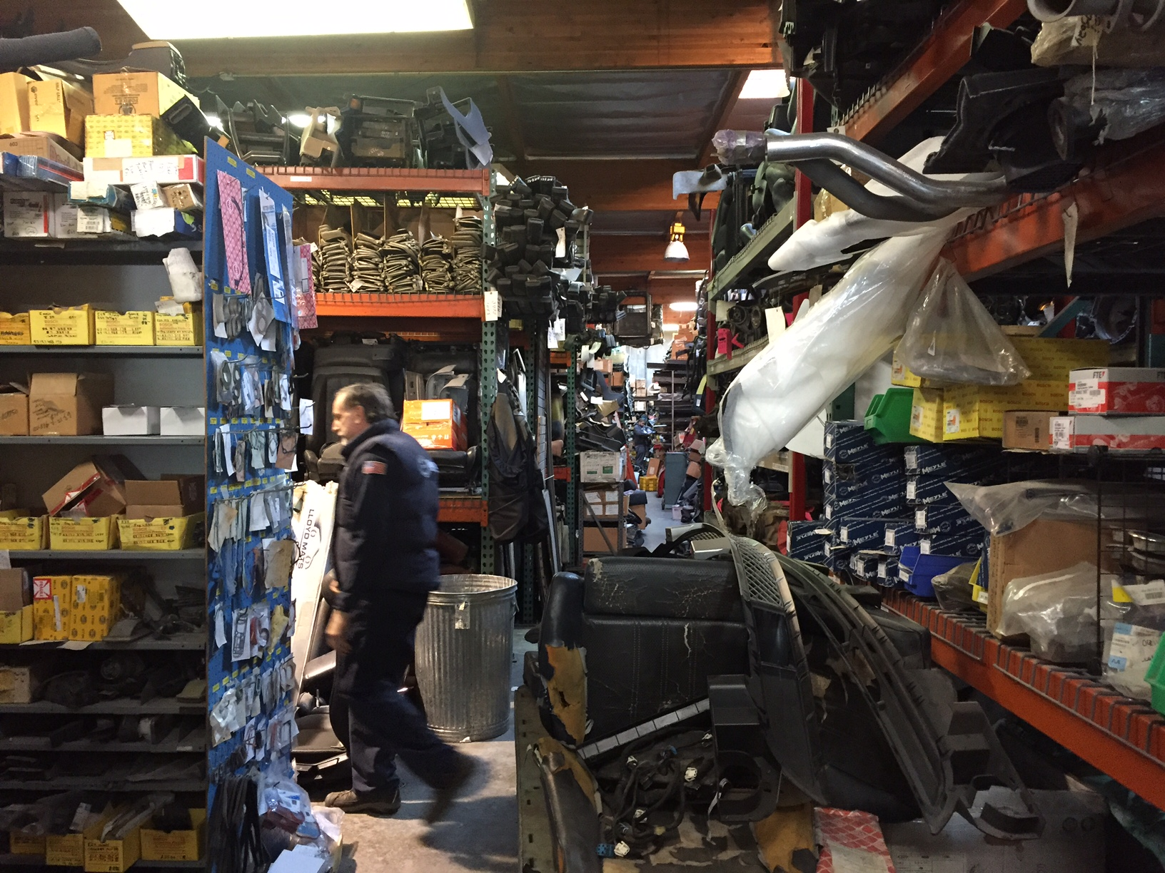 auto part salvage yards