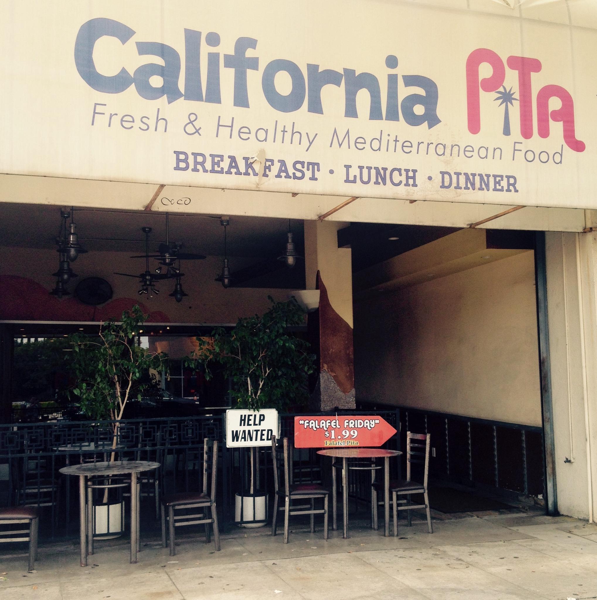 California Pita Kitchen Sherman Oaks Menu