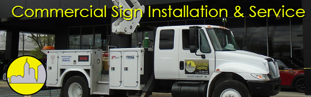 Sign Installation and Service in Newton