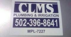 CLMS Plumbing & Irrigation - Louisville, KY