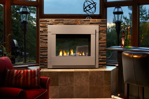 Cozy up with a clean fireplace.