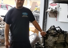 Schultz Garage Inc - Petersburg, OH. Meet Eric Schultz! Eric is an excellent mechanic at Schultz Garage Inc., and a very important asset to the family owned business!!