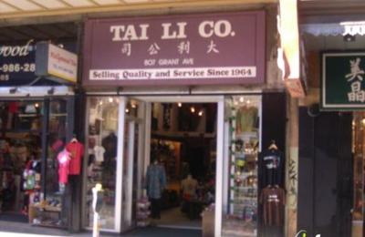 Tai Li Co - San Francisco, CA
