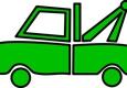 Able Safeway Transport - Wesley Chapel, FL. Green truck