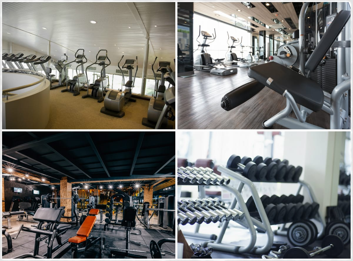 Fitness equipment dealer