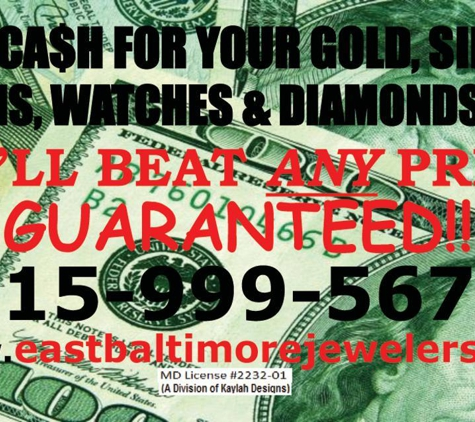 East Baltimore Jewelers & Gold Buyers - Baltimore, MD