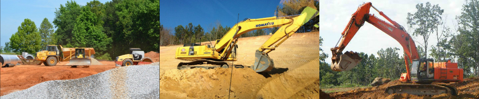 Earthmovers and Excavators Atlanta
