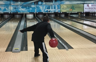Galaxy Bowling - Richmond, KY. Jake trying to get a strike '