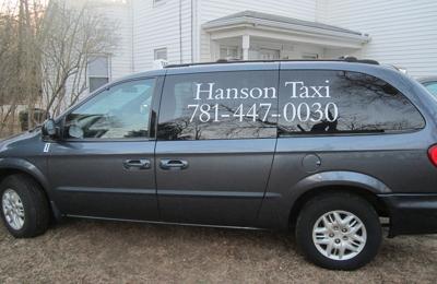 hanson taxi - Hanson, MA
