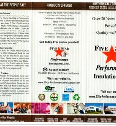 5 Star Performance Insulation Inc - Sacramento, CA