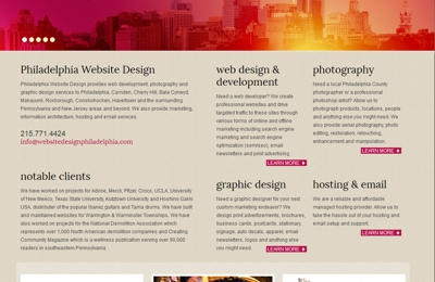 Philadelphia Website Design - Philadelphia, PA