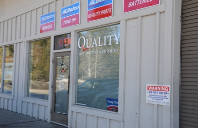 Quality Automotive and Smog, Inc - Truckee, CA